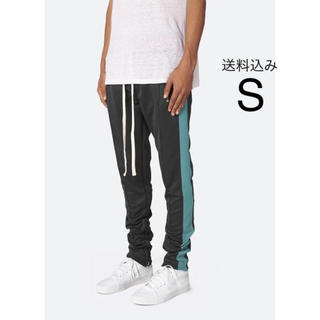 FEAR OF GOD - Mnml Track Pants - Black/Teal Sサイズ