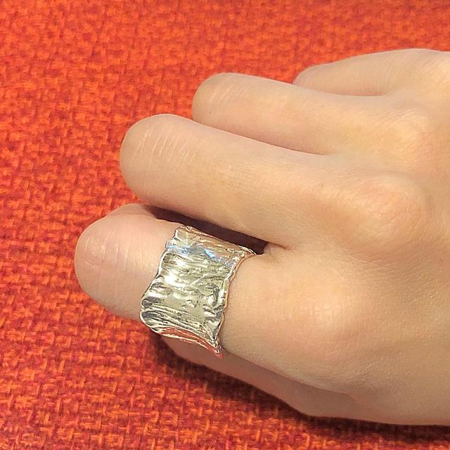 Ron Herman(ロンハーマン)のプリュイ pluie  ブルーリング 15号 美品 レディースのアクセサリー(リング(指輪))の商品写真