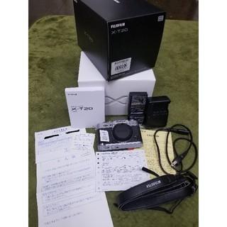 富士フイルム - 【残保証有り】Fujifilm X-T20本体+付属品+おまけ