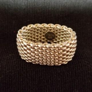 ティファニー(Tiffany & Co.)のティファニーリング(美品)(20日まで最終金額)(リング(指輪))