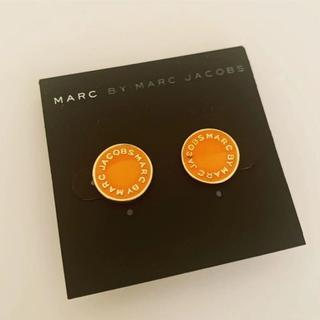 マークバイマークジェイコブス(MARC BY MARC JACOBS)のマークピアス 丸オレンジ(ピアス)
