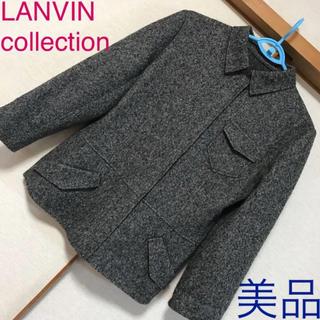 ランバンコレクション(LANVIN COLLECTION)の美品♡ランバンコレクション♡ウール100% ステンカラージャケット コート 36(テーラードジャケット)