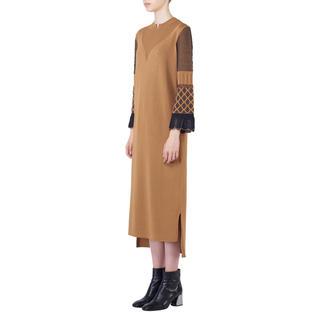 マメ(mame)の新品未使用 19FW mame   I-Line Knit Dress(ひざ丈ワンピース)