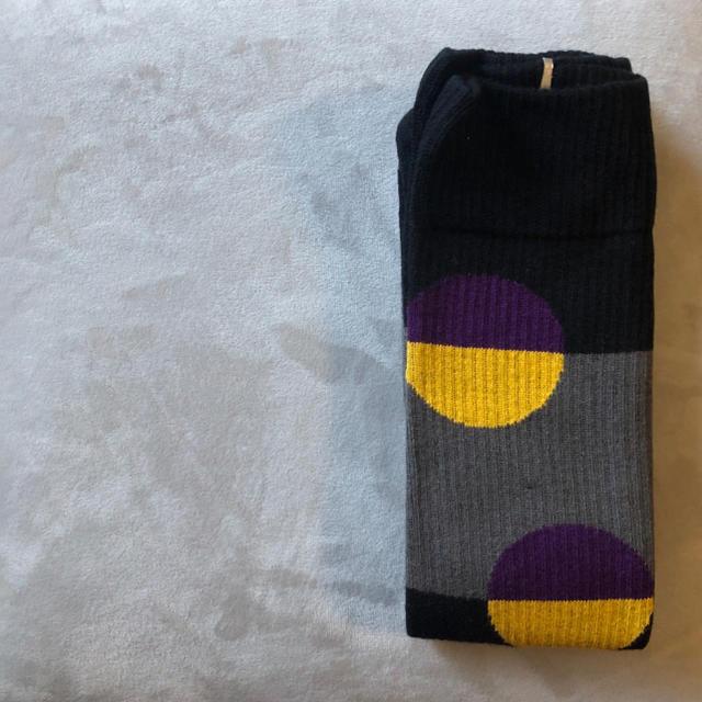 STUSSY(ステューシー)の厚手リブのスケーターソックス♪おしゃれメンズ靴下♪vansaddidasサッカー メンズのレッグウェア(ソックス)の商品写真
