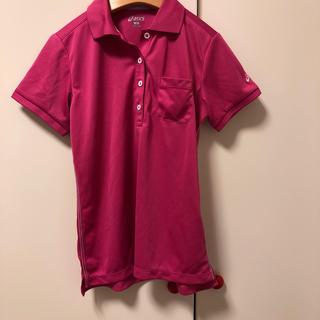 アシックス(asics)のアシックス Tシャツ ピンク S(Tシャツ(半袖/袖なし))
