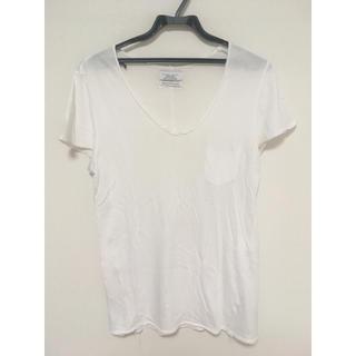 ZARA - 【格安】ZARA ピマコットン Tシャツ【激安】メンズ白男性ホワイト無地