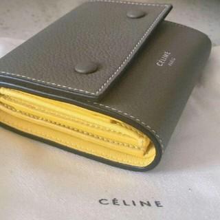 celine - 本日限定!!celine 三つ折り財布