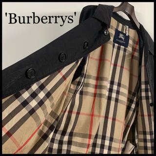 BURBERRY - BURBERRY LONDON バーバリー 最高級 バルマカーンコート 古着