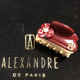 アレクサンドルドゥパリ(Alexandre de Paris)の新品 アレクサンドルドゥパリ カメリアクリップ 3㎝(バレッタ/ヘアクリップ)