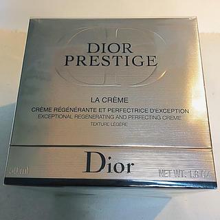 クリスチャンディオール(Christian Dior)のディオール プレステージ ラ クレーム レジェール 50ml未使用(フェイスクリーム)