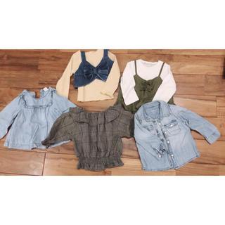 ギャップ(GAP)の90cm 女の子 トップス❤️まとめ売り❤️長袖(Tシャツ/カットソー)