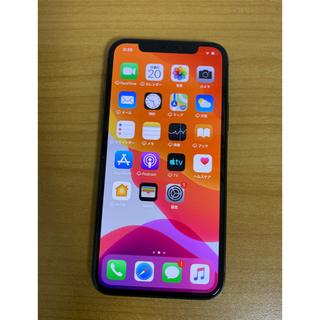 iPhone - 新品  au iPhone 11 pro 64gb スペースグレー 送料無料