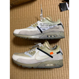 オフホワイト(OFF-WHITE)のNIKE THE TEN off-white AIR MAX 90 1st 初代(スニーカー)
