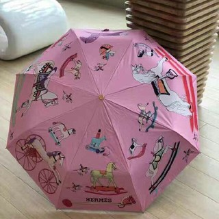 Hermes - HERMES 折り畳み傘 日傘