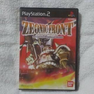 プレイステーション2(PlayStation2)のPS2 ジオニックフロント 機動戦士ガンダム0079(家庭用ゲームソフト)