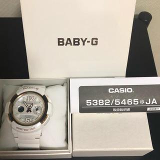 カシオ(CASIO)のCASIO カシオ BABY-G 時計 ウォッチ ホワイト 白 レディース (腕時計)