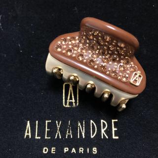 アレクサンドルドゥパリ(Alexandre de Paris)の新品 アレクサンドルドゥパリ クリップ4.5㎝(バレッタ/ヘアクリップ)
