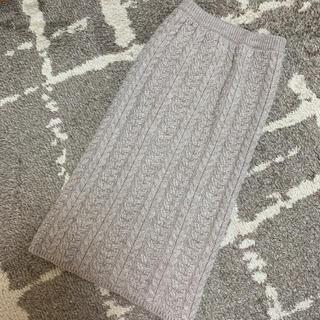 GU - 【新品同様】GU ニットタイトロングスカート