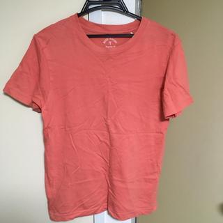 ジーユー(GU)のメープルローズ ベーシックTシャツ レギュラーフィット(Tシャツ(半袖/袖なし))