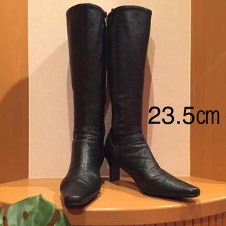 DIANA - DIANA/ダイアナ  ブーツ  本革  黒 23.5