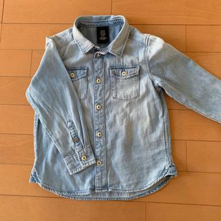 エイチアンドエム(H&M)のH&M デニムシャツ 105(ジャケット/上着)