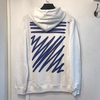 オフホワイト(OFF-WHITE)のoff white トップス 男女兼用(パーカー)