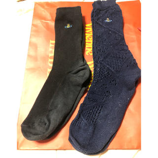 ヴィヴィアンウエストウッド(Vivienne Westwood)の✨ヴィヴィアンウエストウッド✨靴下2点セット(ソックス)