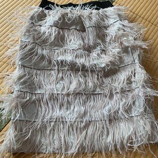ふわふわスカート(ひざ丈スカート)