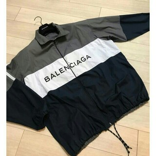 バレンシアガ(Balenciaga)のバレンシアガ 2018SS トラックジャケット(ナイロンジャケット)