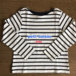 プチバトー(PETIT BATEAU)のプチバトー マリニエール長袖カットソー 6Y(Tシャツ/カットソー)