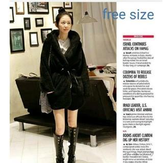 週末限定価格!1枚限定 テディベアアウター 韓国ファッション エモダ  GYDA(ブルゾン)