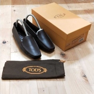 TOD'S - 美品! TOD'S トッズ ブラウンローファー 37