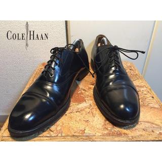 コールハーン(Cole Haan)の71〉コールハーン COLE HAAN ストレート 黒 9.5 27cm相当 (ドレス/ビジネス)