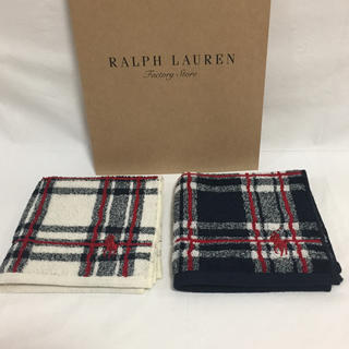 Ralph Lauren - ラルフローレン  タオルハンカチ  ⭐︎5