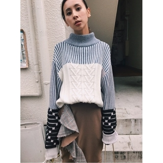 Ameri VINTAGE - アメリヴィンテージ VARIETY CABLE KNIT