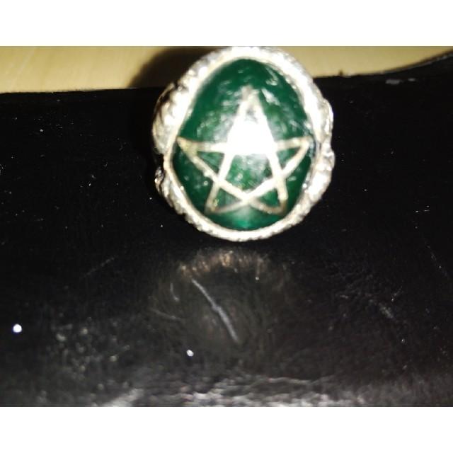 Angel Heart(エンジェルハート)のアレックス ストリーター 緑 メンズのアクセサリー(リング(指輪))の商品写真