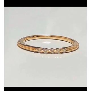 アガット(agete)のアガット ダイヤリング 10号(リング(指輪))