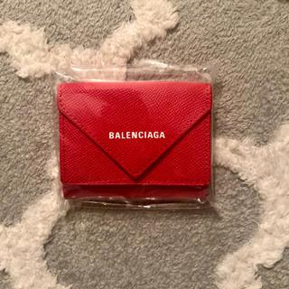 Balenciaga - balenciaga 赤 ミニウォレット  限定色