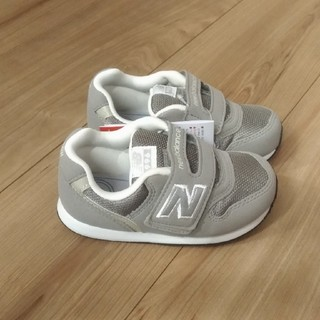 New Balance - 箱なし ニューバランス ベビー スニーカー 15.5cm グレー