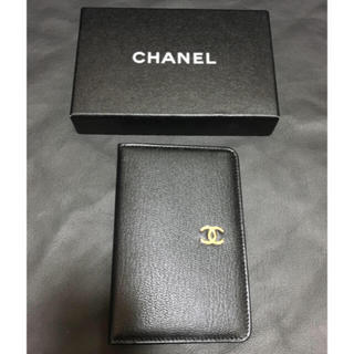 CHANEL -  【未使用】 正規品CHANEL手帳カバー 名刺入れ