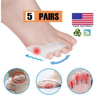 内反小趾 サポーター 足指分離パッド 内反小趾矯正 水疱 摩擦からの痛みの軽減 (フットケア)