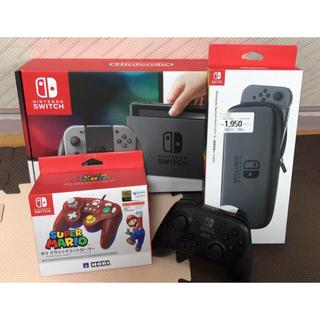 Nintendo Switch - 任天堂Switch本体+マリオクラシックコントローラー+おまけ付き