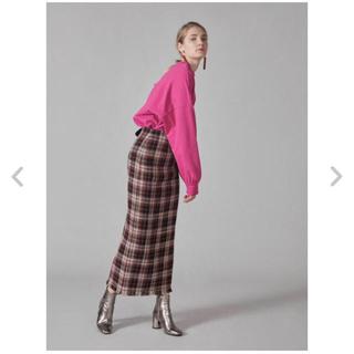 snidel - ウールロービングスカート