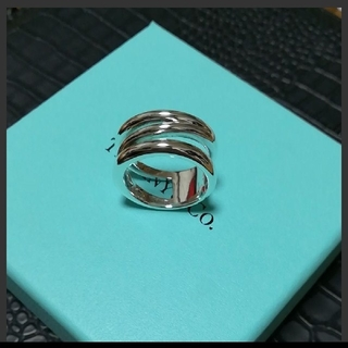 ティファニー(Tiffany & Co.)のティファニー オープンダイアゴナルリング(リング(指輪))