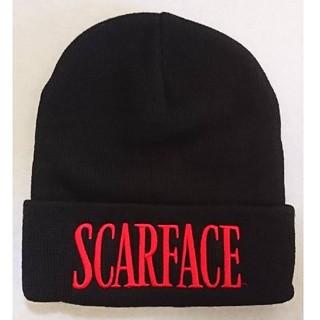 Supreme - Supreme シュプリーム スカーフェイス ビーニー ブラック ニット帽子