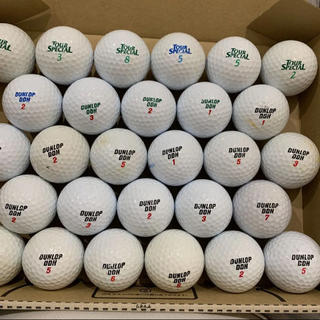 ダンロップ(DUNLOP)のゴルフボール ロストボール ダンロップ 28球 303(その他)