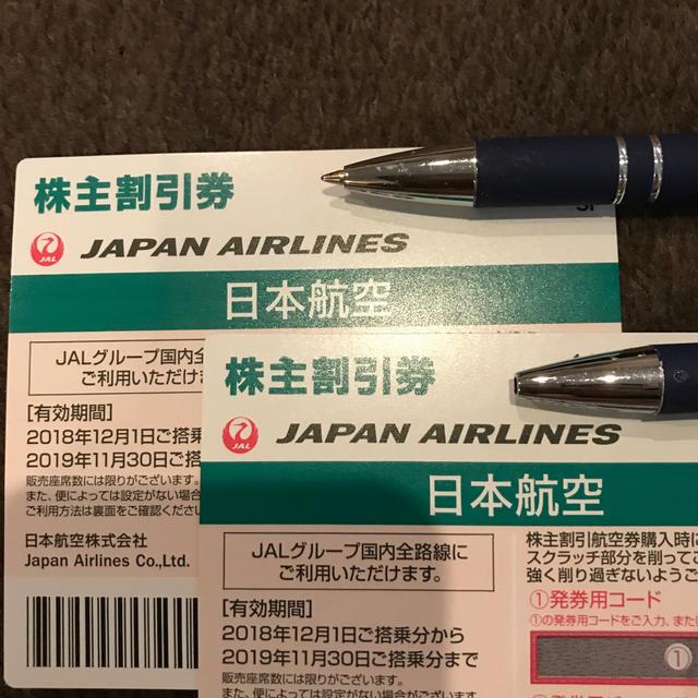 JAL(日本航空)(ジャル(ニホンコウクウ))のJAL チケットの優待券/割引券(その他)の商品写真