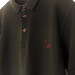 ラフシモンズ(RAF SIMONS)のRAF SIMONS × FRED PERRY  コラボ ポロシャツ(ポロシャツ)