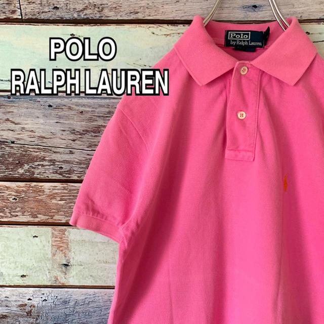POLO RALPH LAUREN(ポロラルフローレン)のポロ ラルフローレン XSサイズ ポロシャツ ピンク メンズのトップス(ポロシャツ)の商品写真