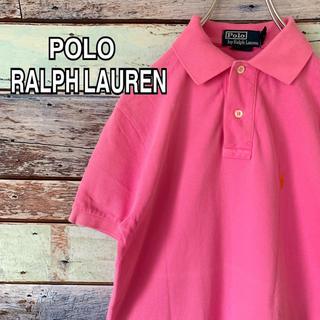 ポロラルフローレン(POLO RALPH LAUREN)のポロ ラルフローレン XSサイズ ポロシャツ ピンク(ポロシャツ)